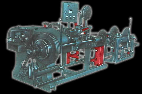 Single Strand Type Barbed Wire Machine